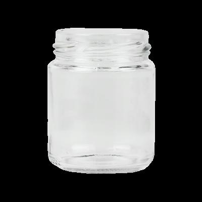 Słoik 135 ml z wieczkiem złotym 12szt