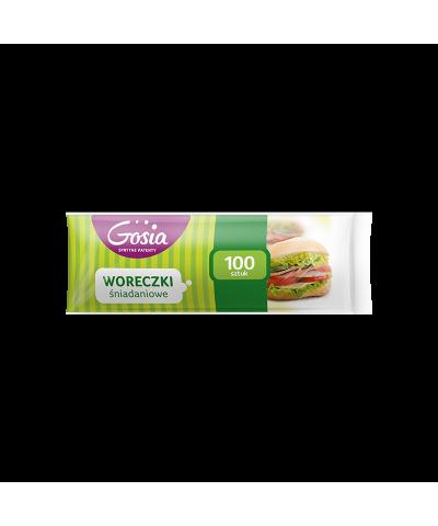 Woreczki śniadaniowe GOSIA 100 szt  - 1