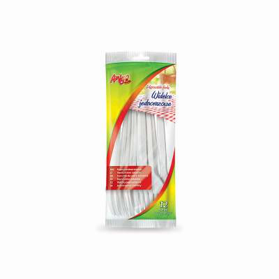 Widelce plastikowe AMIGO 12 sztuk