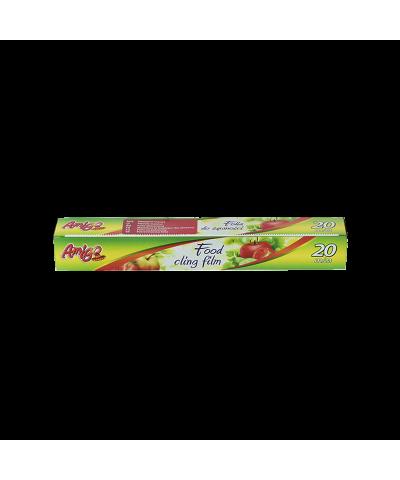 Folia do żywności AMIGO 20m z nożykiem  - 1