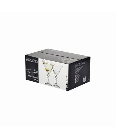 Komplet 6 kieliszków do martini PRESTIGE KRISTA KROSNO 170ml Krosno - 3