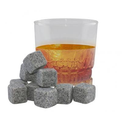 Kamienne kostki do schładzania drinków i whisky 9 szt