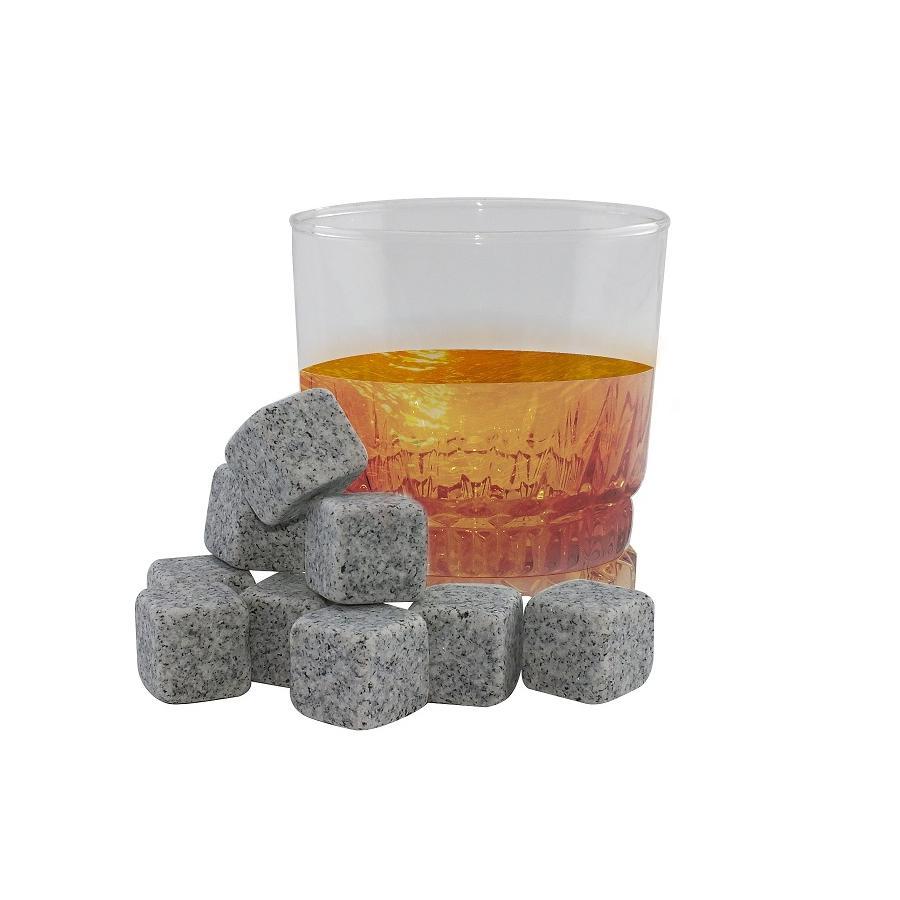 Kamienne kostki do schładzania drinków i whisky 9 szt - 1
