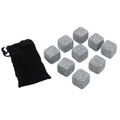 Kamienne kostki do schładzania drinków i whisky 9 szt - 2