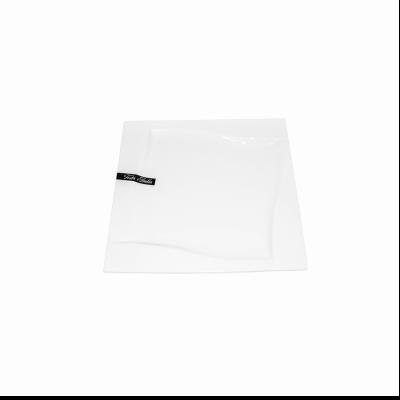Talerz płaski kwadrat VIVA 25cm