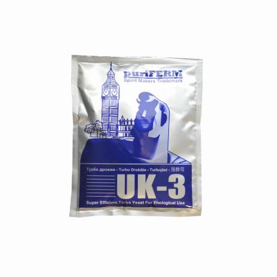 Drożdże TURBO UK-3 112 g