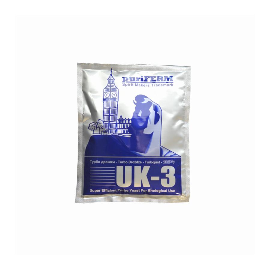 Drożdże TURBO UK-3 112 g - 1