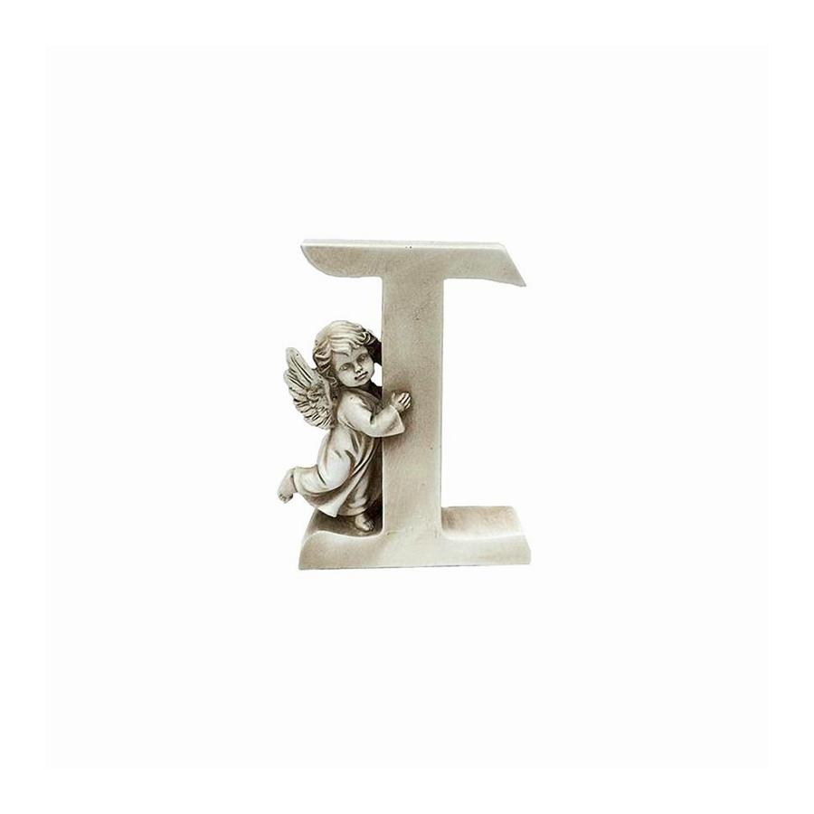 Ozdobna literka z aniołkiem - I - 1