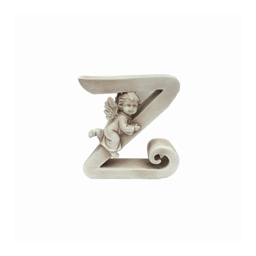 Ozdobna literka z aniołkiem - Z - 1