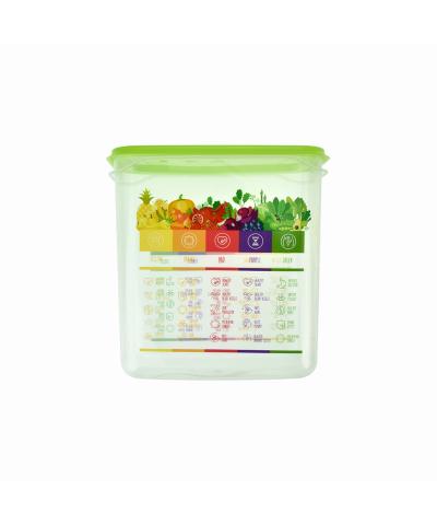 Pojemnik Vitaline z miarką 1,5l zielony - 1