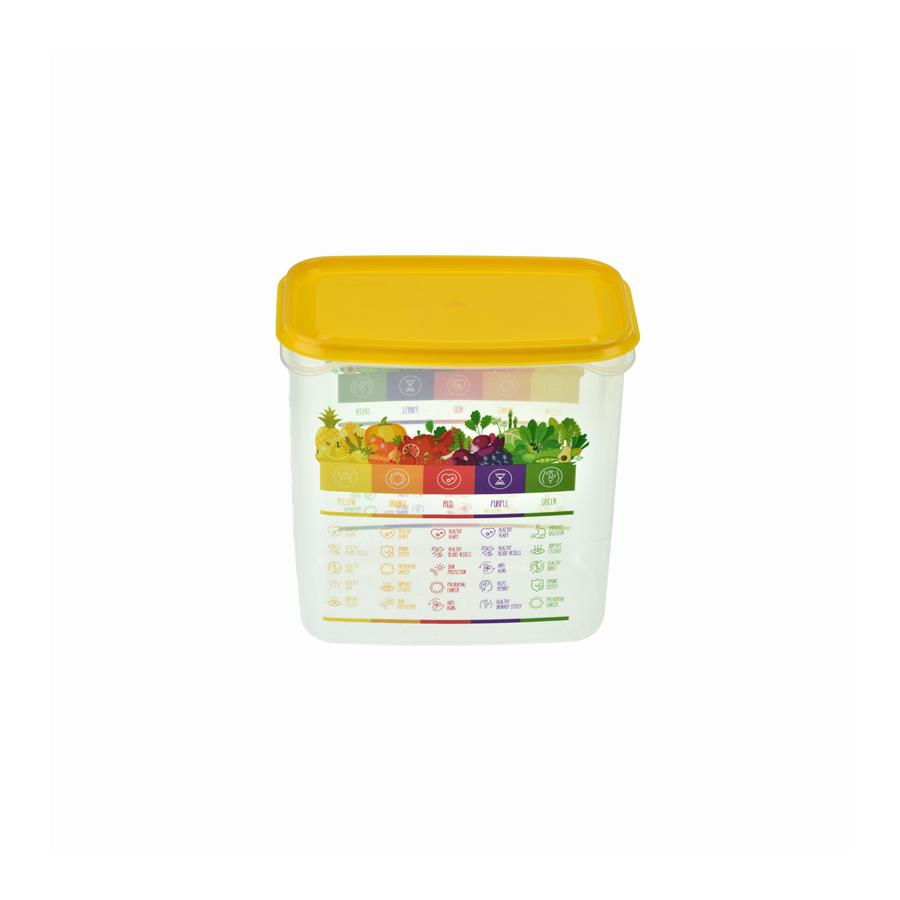 Pojemnik Vitaline z miarką 1,5l zółty - 1