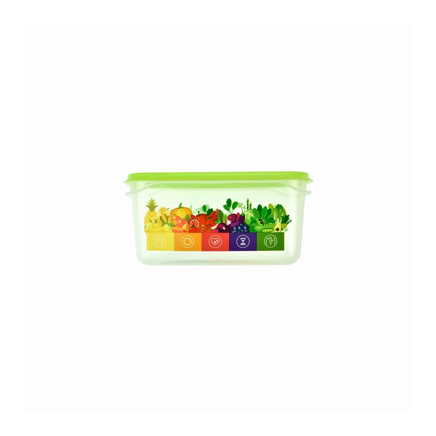 Pojemnik Vitaline z miarką 0,5l zielony - 1