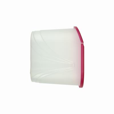 Pojemnik na produkty sypkie WAWE 1,5l czerwony - 1