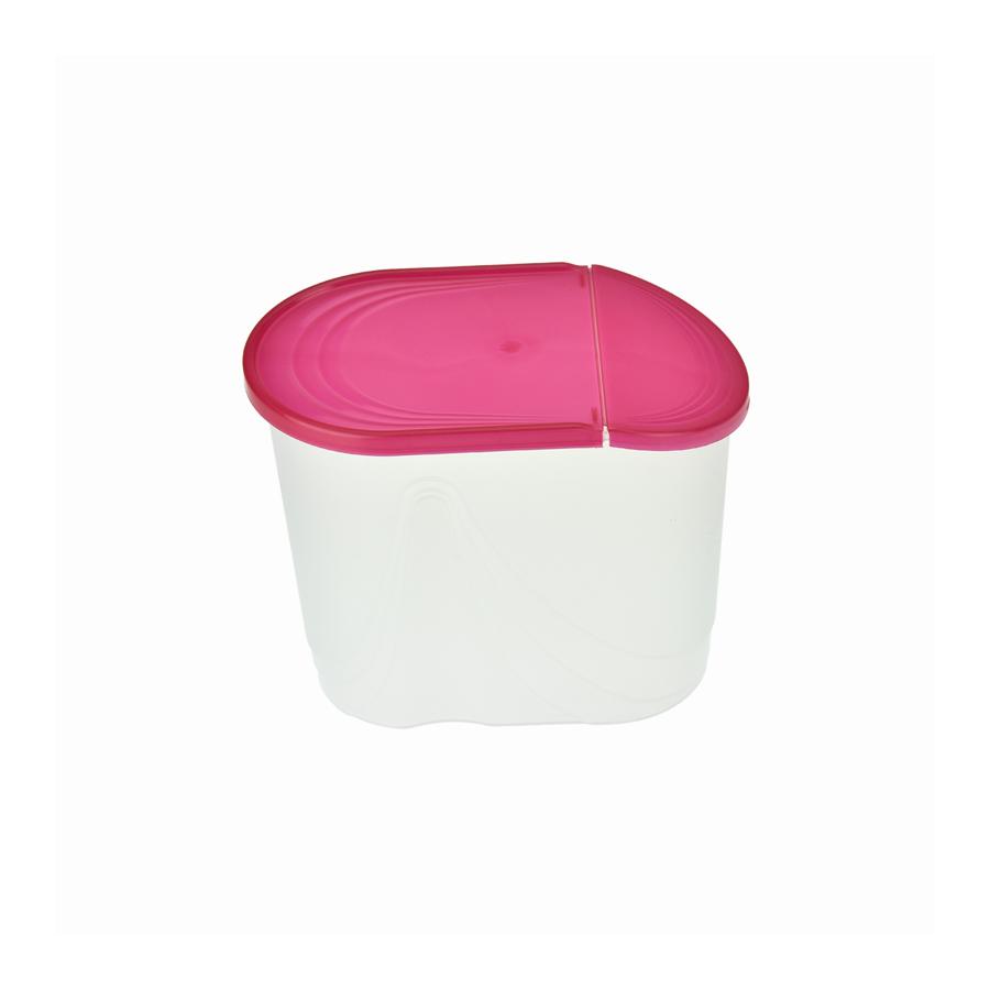 Pojemnik na produkty sypkie WAWE 1,5l czerwony - 2