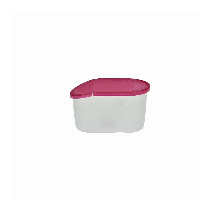 Pojemnik na produkty sypkie WAWE 1l czerwony - 1
