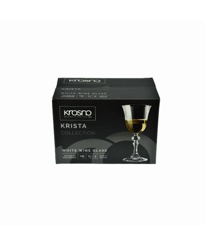 Komplet 6 kieliszków do wina białego KRISTA KROSNO 150ml Krosno - 3