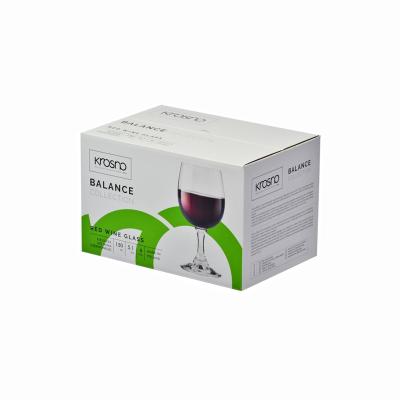 Komplet 6 kieliszków do wina czerwonego BALANCE 150ml - 3