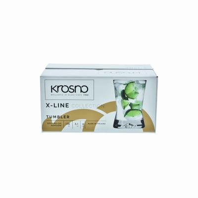 Komplet 6 szklanek do drinków X-LINE KROSNO 150ml Krosno - 2