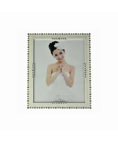 Ramka na zdjęcie z kryształkami 26x20,5cm  - 1
