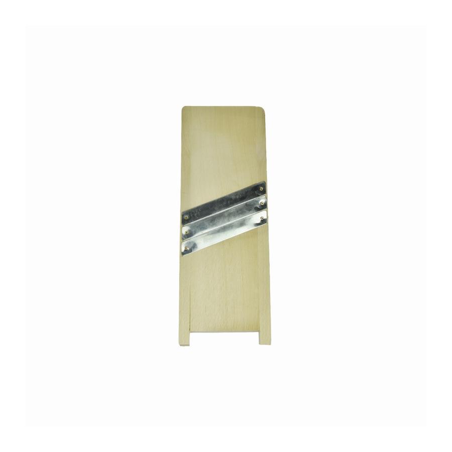Szatkownica drewniana 3-nożowa 44cm - 1